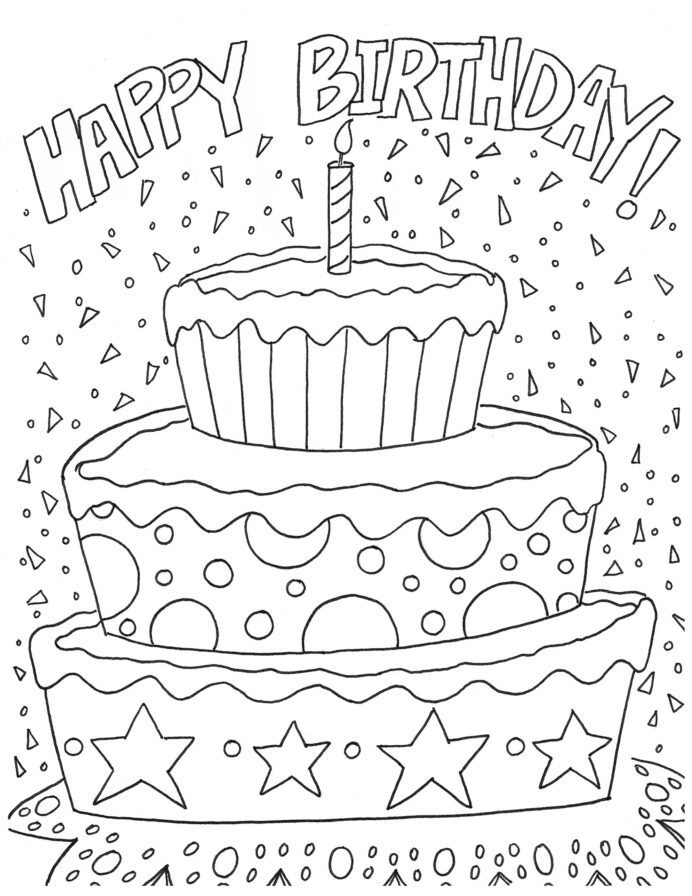 Coloring Book Outstanding Happy Birthday Card Free Of For Kids At  Getdrawings Free Coloring Pages Of Happy Birthday Coloring testpreppractice  christmas activities for grade 1 math 10 problem solver pre algebra  worksheets