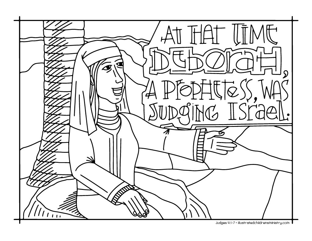 Bible Story Coloring Pages - RCL Year A: Propers 17(22) – 29(34) -  Illustrated Ministry