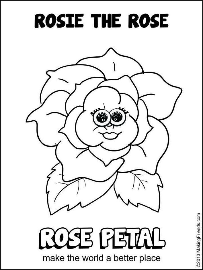 Coloring Sheet - Clover | Girl Scouts: Daisies | Pinterest ...