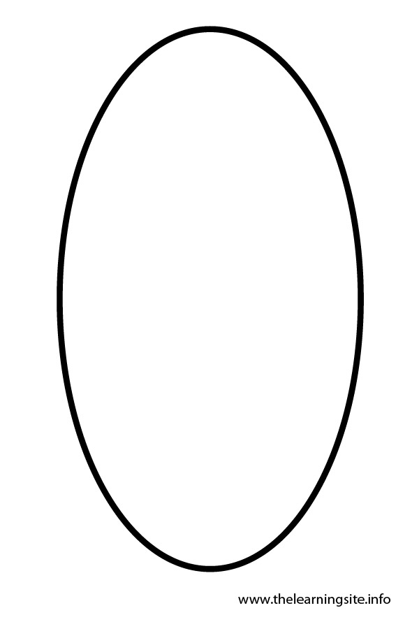 Printable Oval Shape Az Coloring Pages Oval Coloring Page
