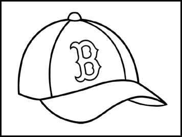 Red Sox Coloring Page Coloring Home