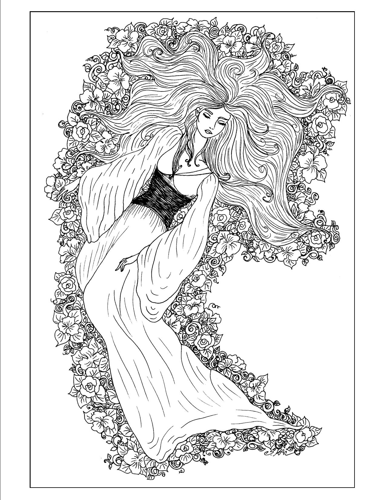 S macs coloring pages for all ages com - Art Nouveau Coloring Pages S Mac S Place To Be