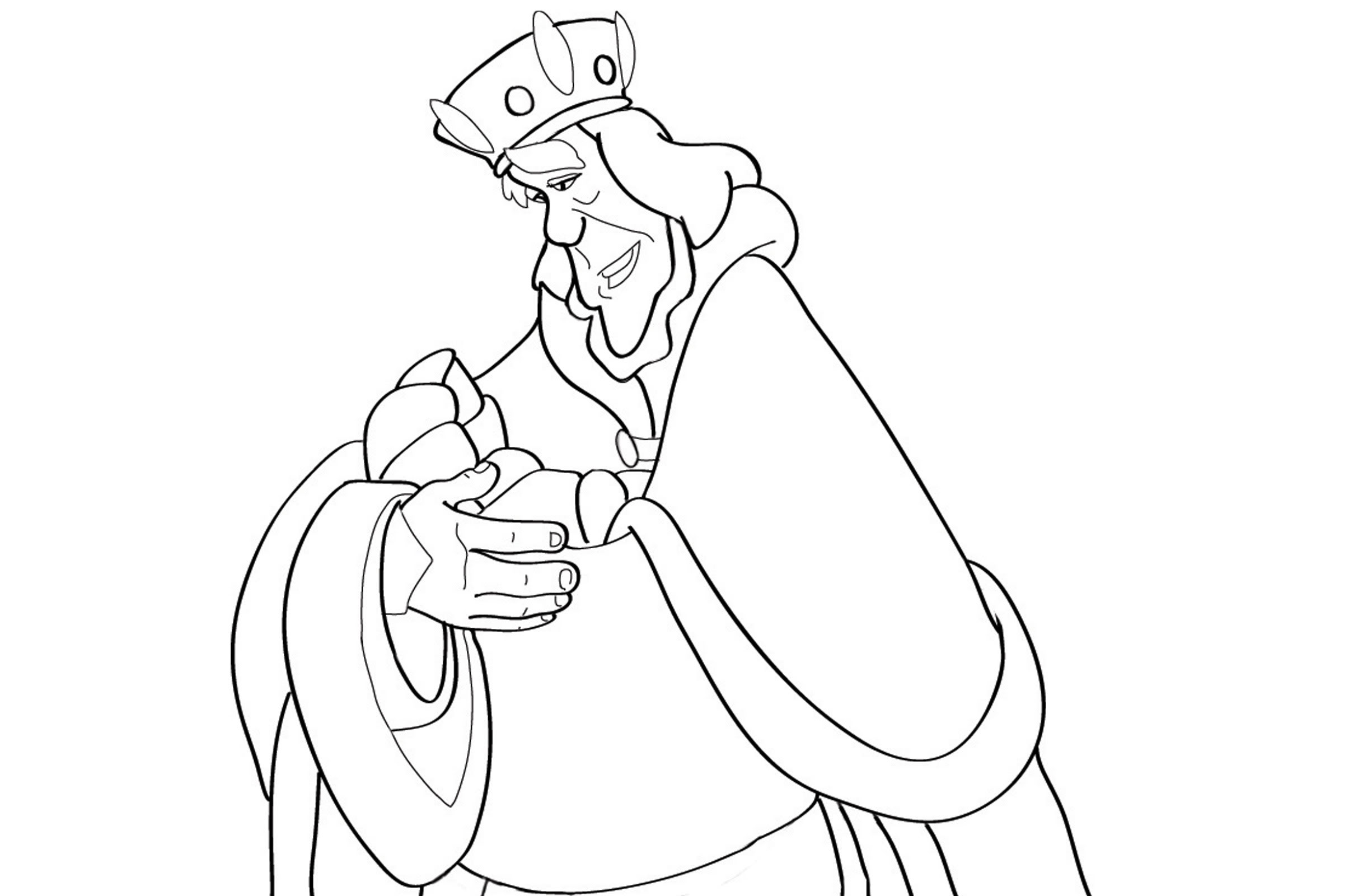 Swan princess coloring pages online