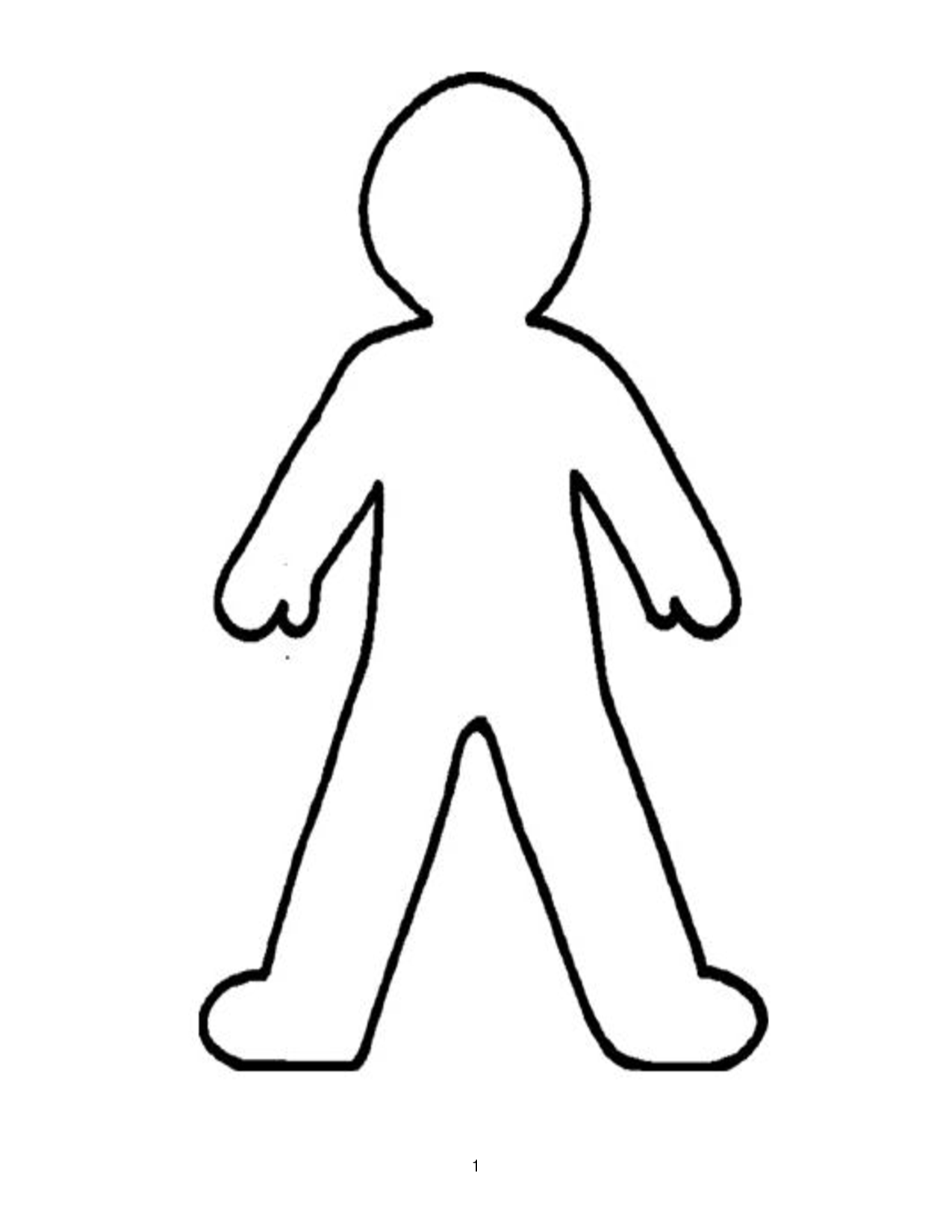 Search results for outline person to colour in for Person coloring pages