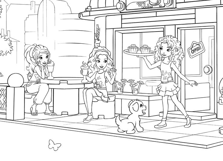 Lego Friends Coloring Pages Coloring Pages Coloring Pages Of Lego Friends