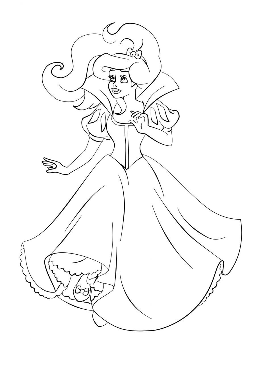 Coloring Pages Princess Pdf : Princess coloring pages pdf home