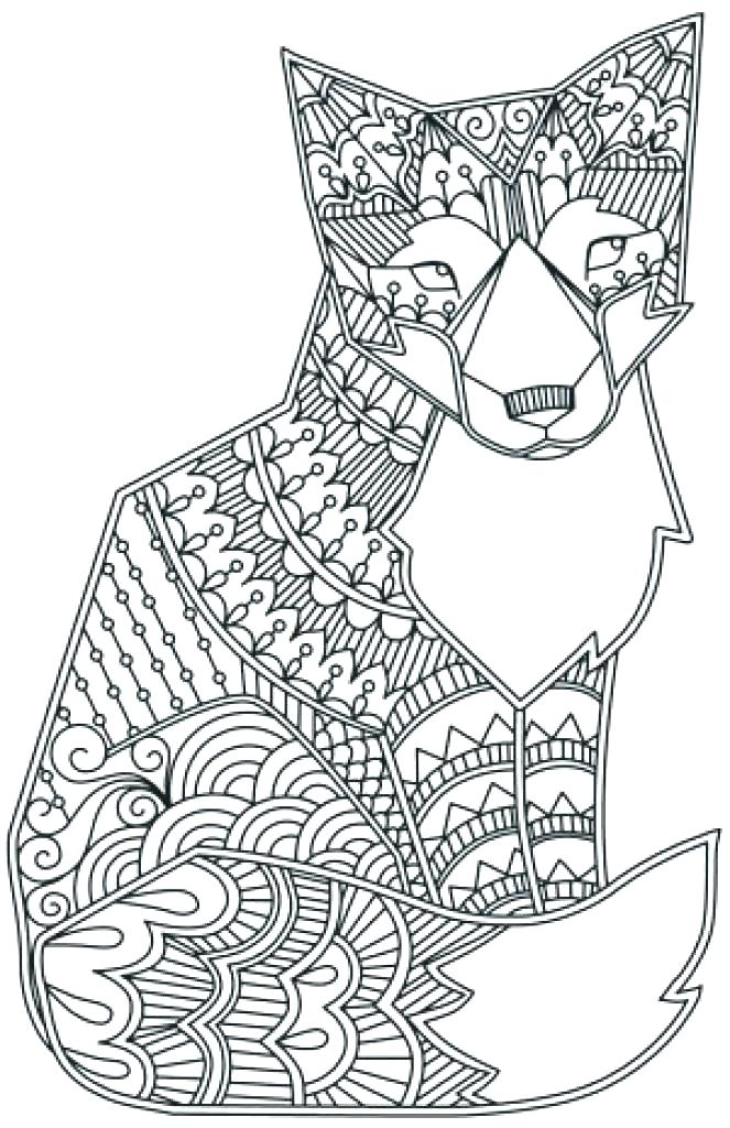 Hard Animals Coloring Pages - Coloring Home