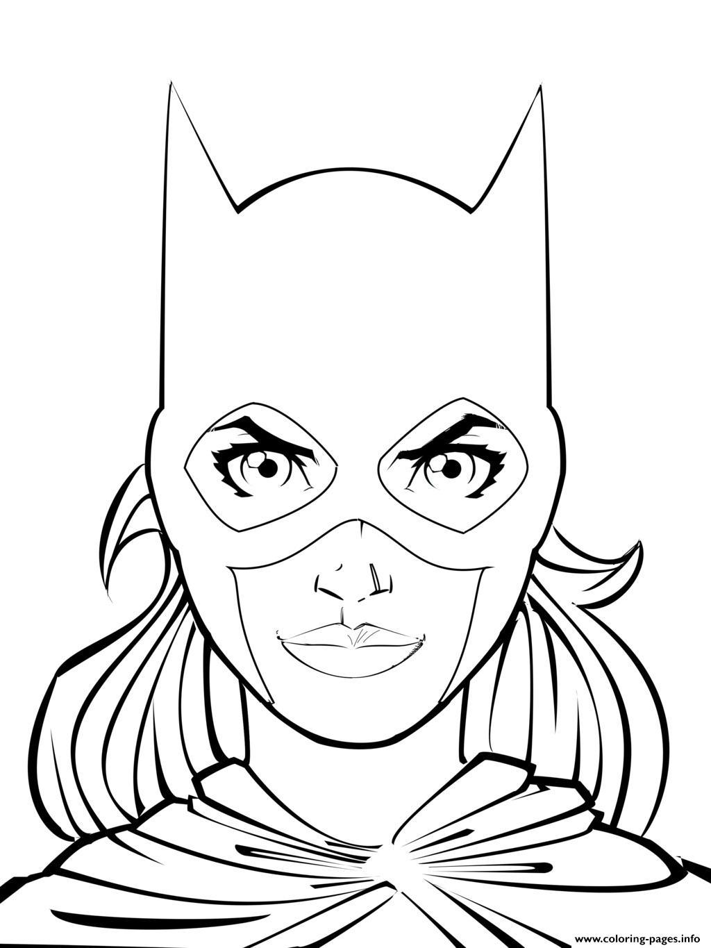 Coloring Pages : Coloring Pages Batgirl 1494022151supergirl ...