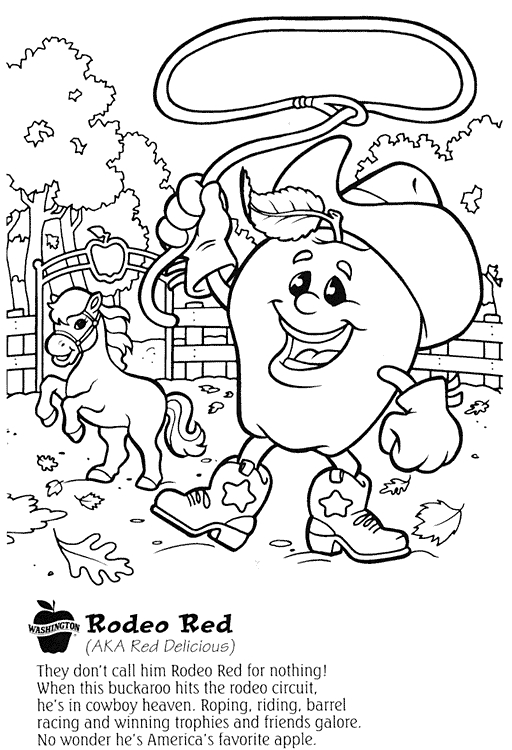 food and nutrition coloring pages - photo#26