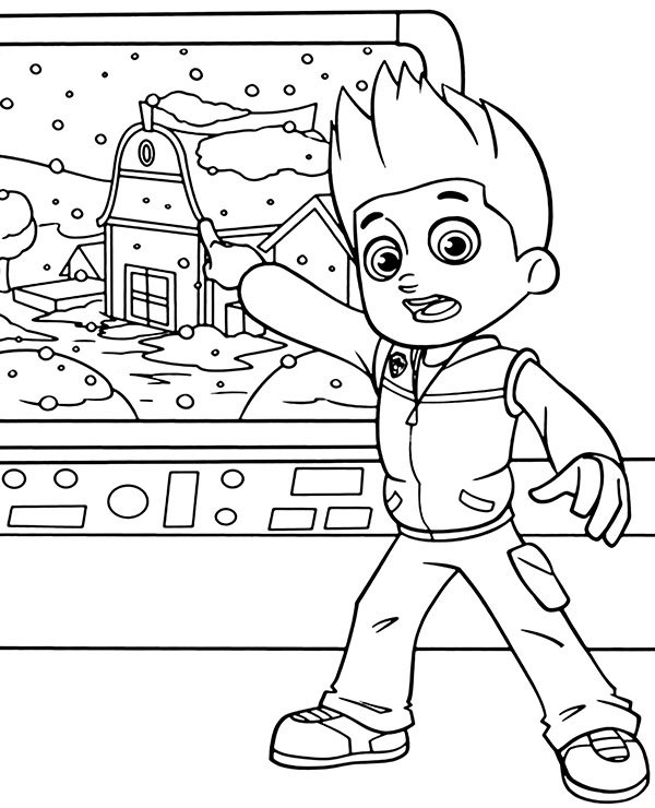 - Ryder Coloring Pages - Coloring Home