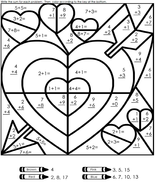 Maths Coloring Pages - Coloring Home