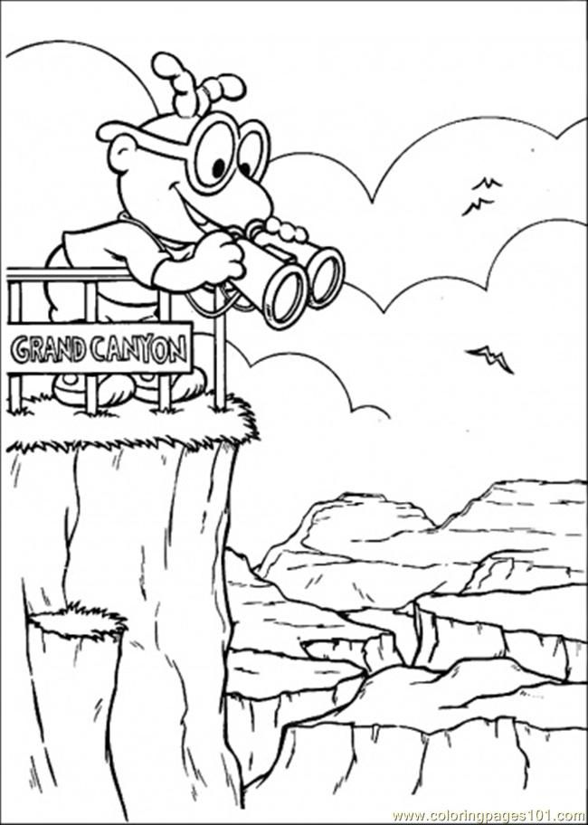 grand canyon coloring pages - photo#13