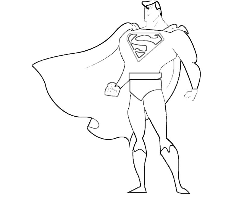 Superman Coloring Pages Pdf : Superman coloring page home