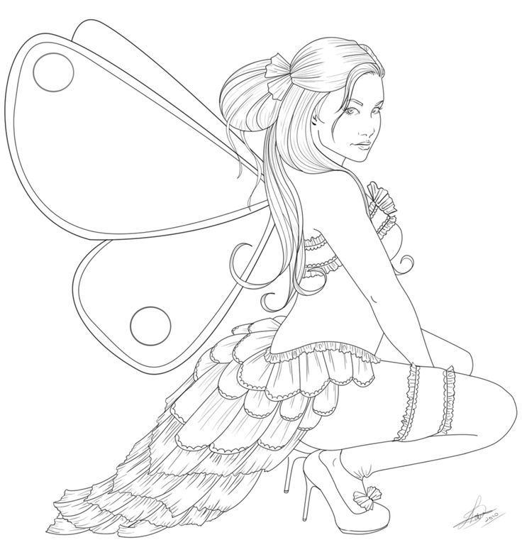 fairy and dragon coloring pages - photo#16