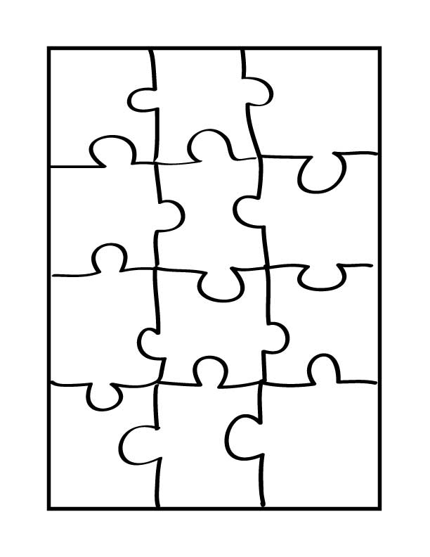 Puzzle Coloring Pages Az Coloring Pages Puzzle Coloring Page