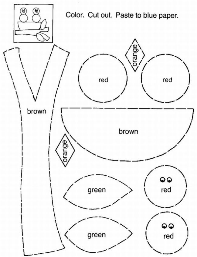 Preschool Fall Coloring Pages