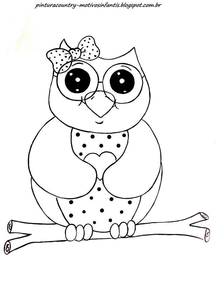 owl coloring pages pdf - owl stencil free printable coloring home