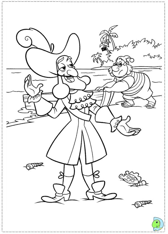 Disney Coloring Pages Jake And The Neverland Pirates : Jake and the neverland pirates coloring books az
