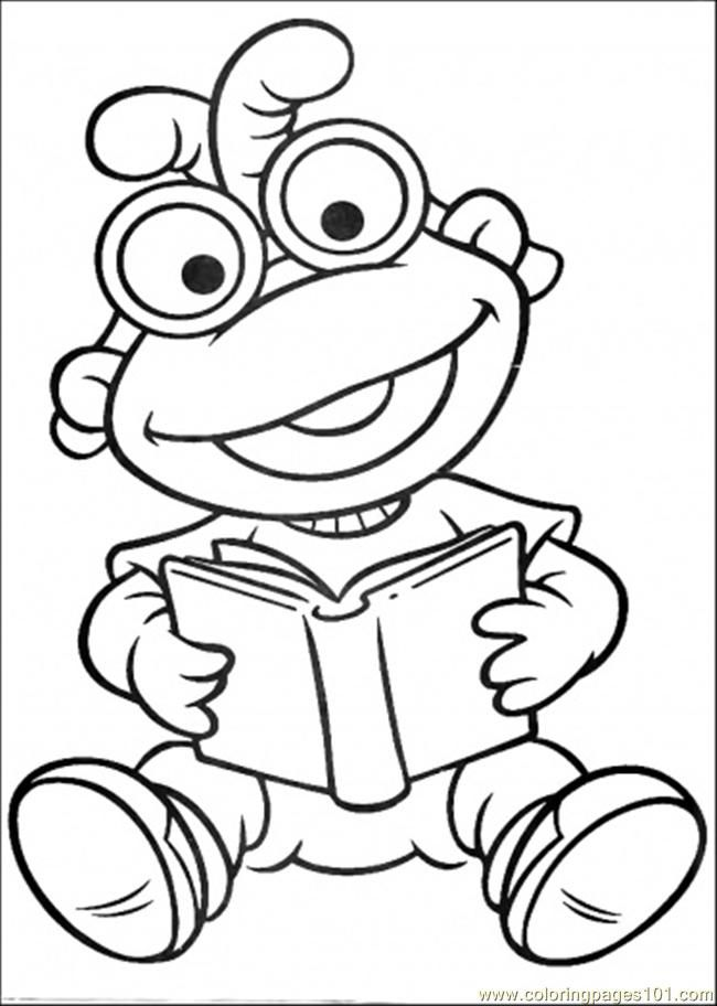 muppet time Colouring Pages (page 2)
