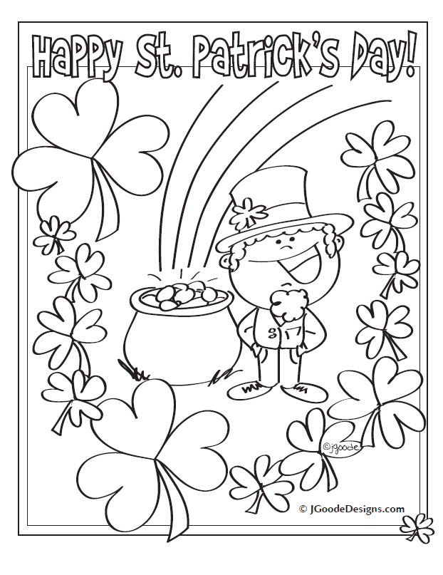 free st patrick s day printable coloring pages printable st patricks day coloring pages az coloring pages