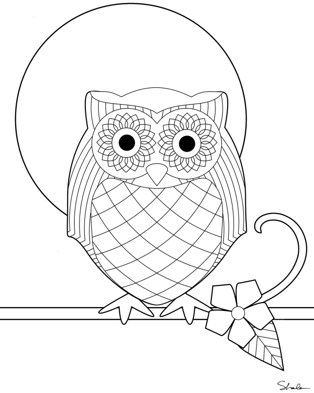 owl diaries coloring pages - photo#4