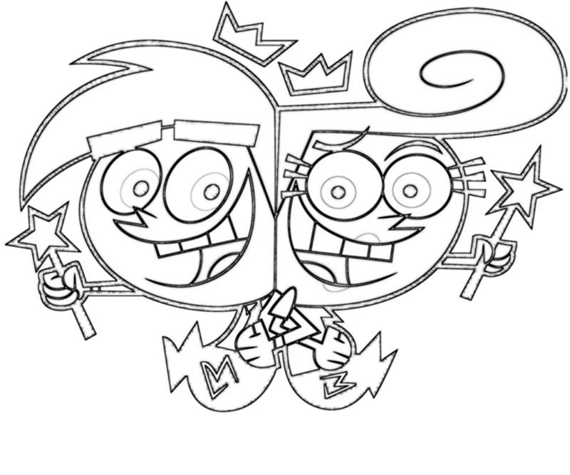 the fairly oddparents coloring pages - fairly odd parents coloring pages coloring home