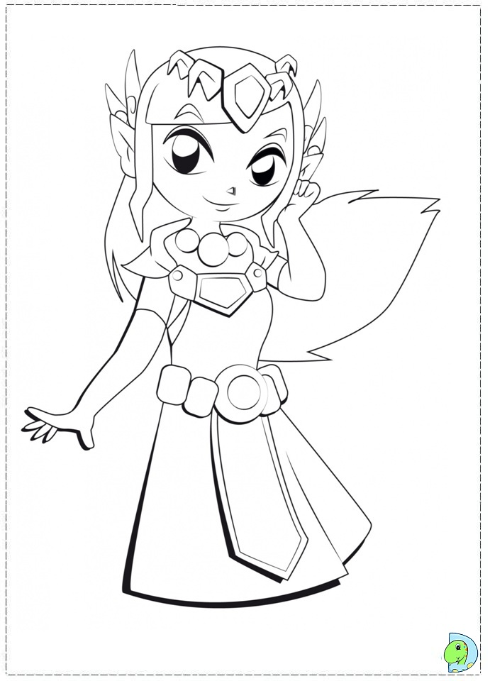 coloring pages zelda - photo#34