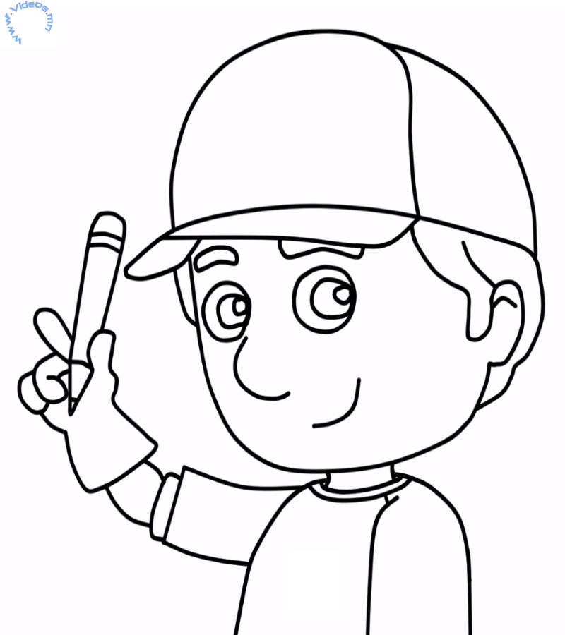 handymanny coloring pages - photo#34