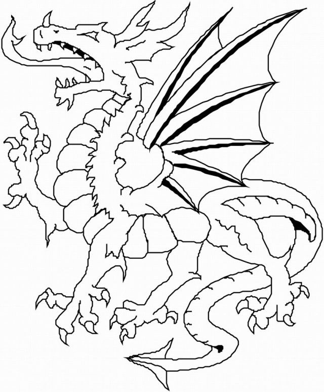 Dragon Coloring Book Coloring Pages Coloring Pages For