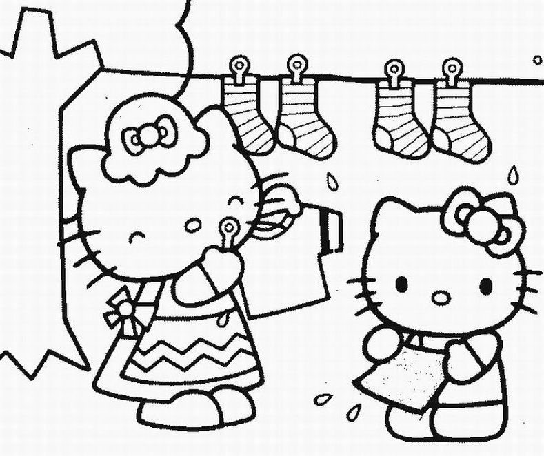 hello kitty color pages 79710241 coloring ws - Coloring Ws Coloring Pages