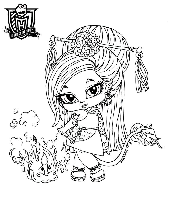 Monster High Baby Coloring Pages Coloring Home High Babies Coloring Pages