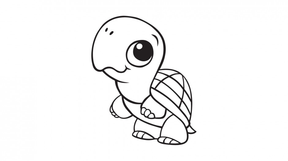 turtle cartoon coloring pages - photo#17