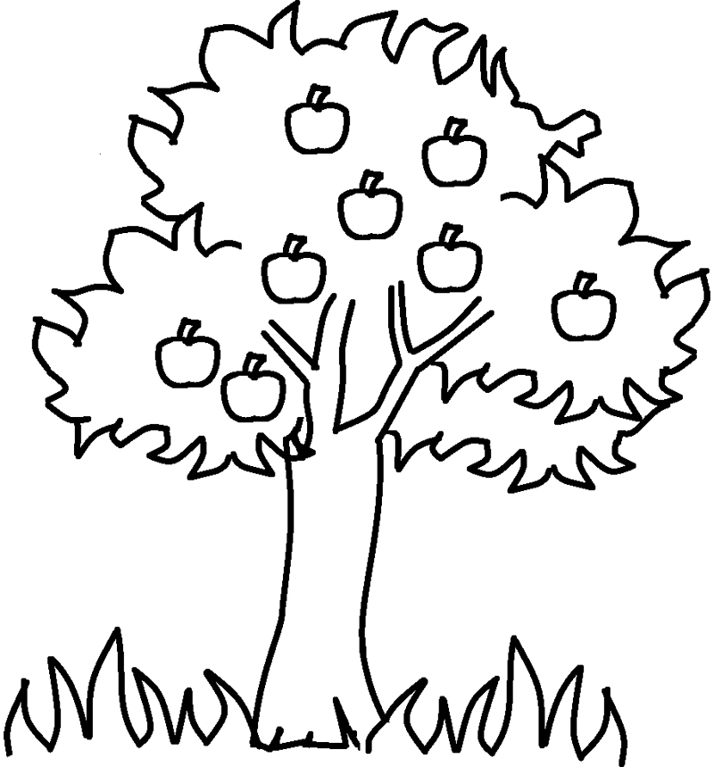 Colouring Pages For Lkg : Apples For The Teacher Coloring Pages AZ Coloring Pages
