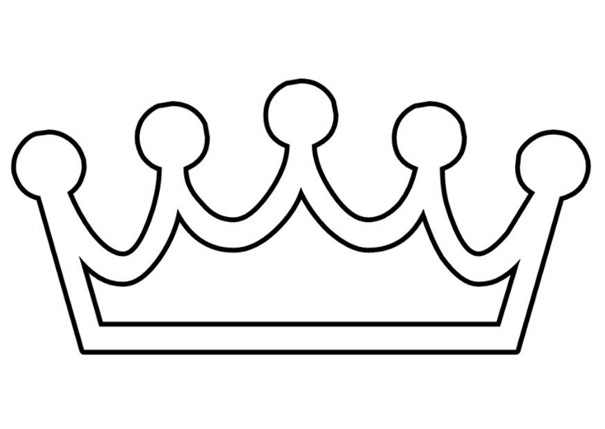Free Coloring Pages Of King Crown King Crown Coloring Page