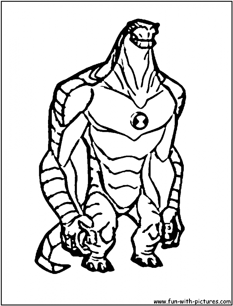 Pin Ben 10 Coloring Page Image Credit To Cartoonjr Pelautscom on