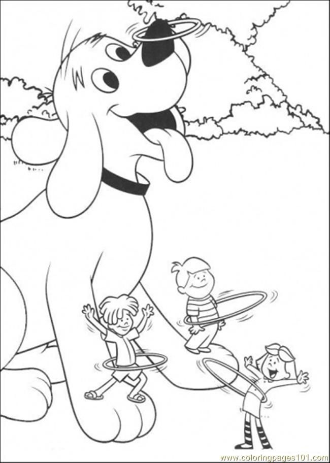Clifford coloring pages free coloring home for Clifford coloring pages