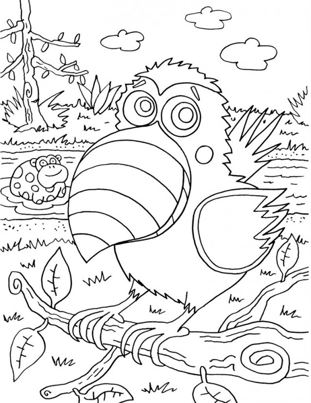Viewing Gallery For Hard Coloring Pages For Teenagers Summer 41161 ...