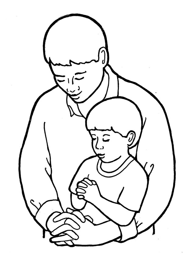 the our father coloring pages - photo#26