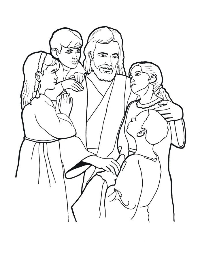 Bible Coloring Pages and Book | UniqueColoringPages