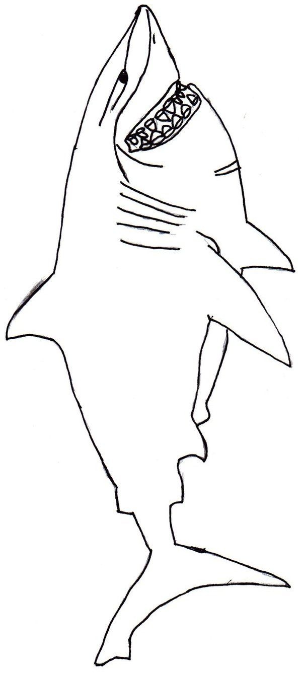 finding nemo bruce coloring pages hicoloringpages - Finding Nemo Coloring Pages Bruce