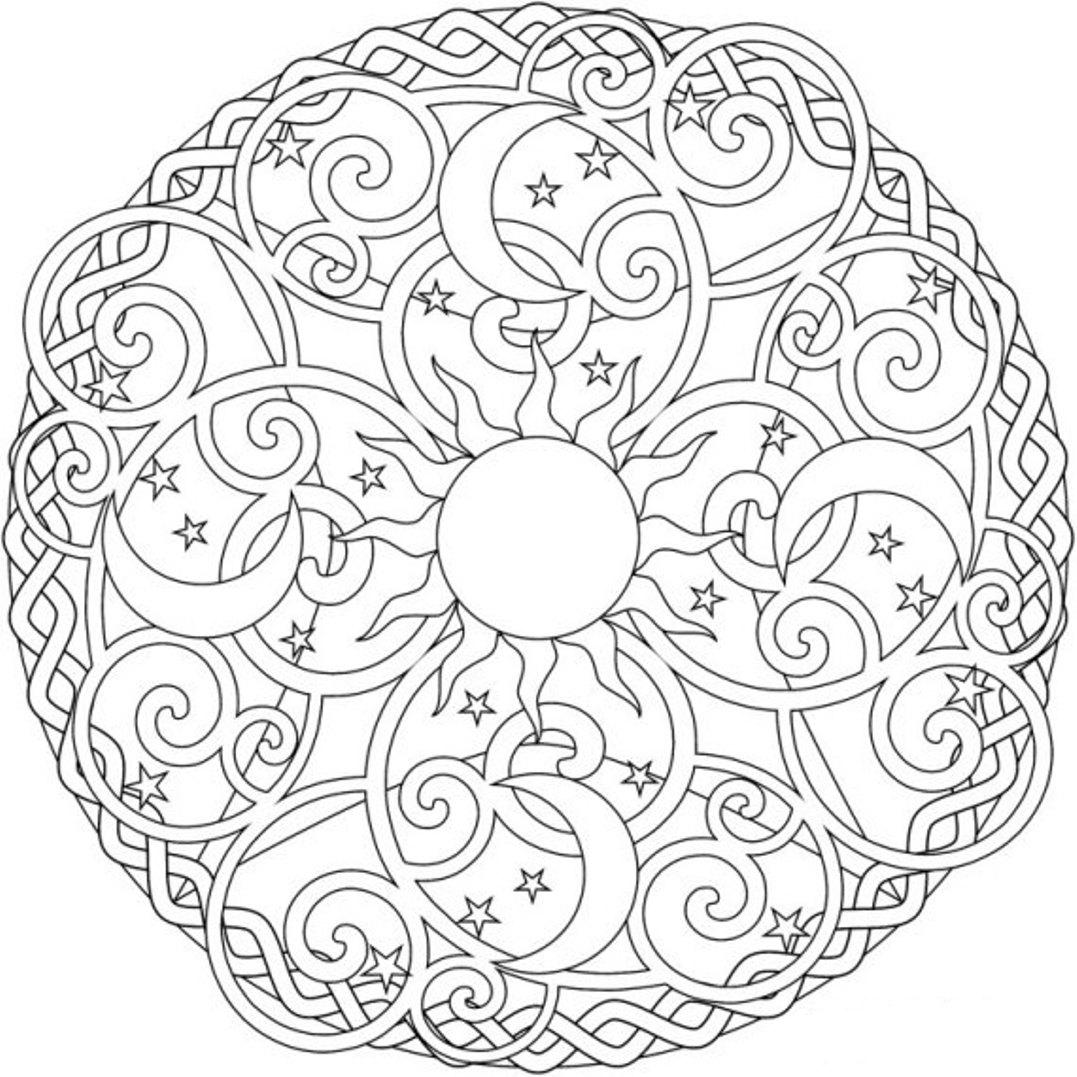 amazing of awesome coloring pages hard mandala about man 255