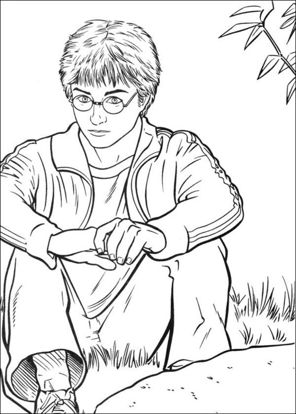 harry potter free printable coloring pages az coloring pages