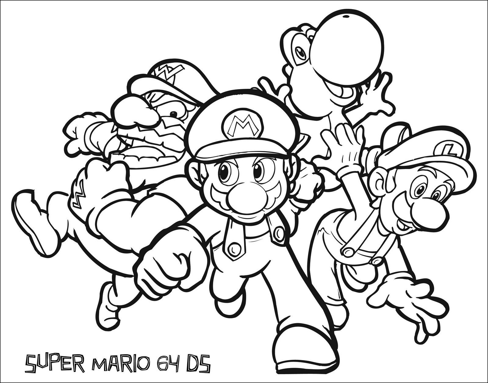 Nintendo Land Coloring Pages Coloring Home