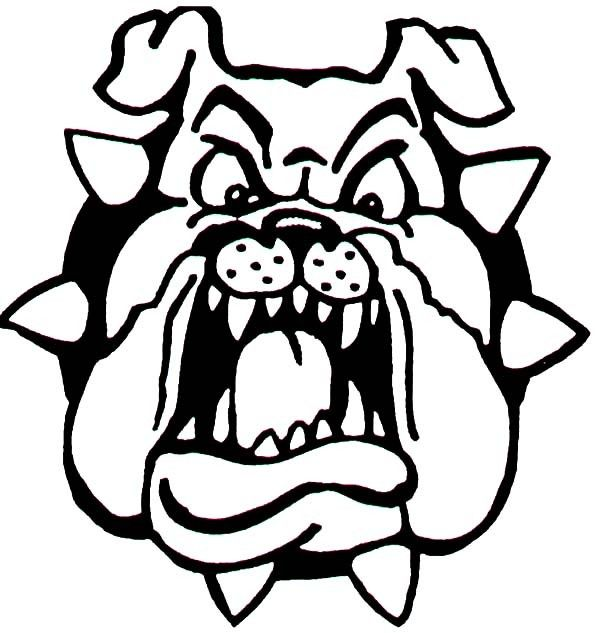 bulldogs coloring pages - photo#28