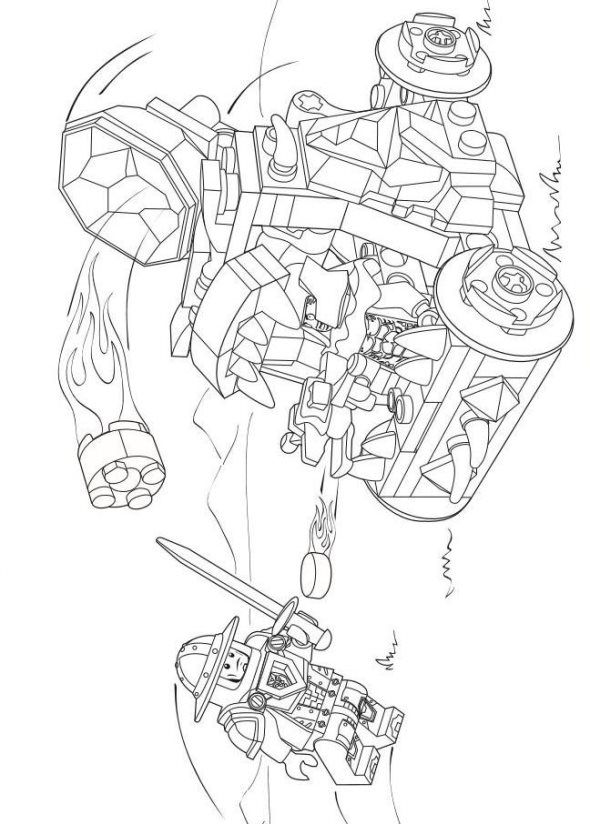 - Lego Nexo Knights Coloring Pages - Coloring Home