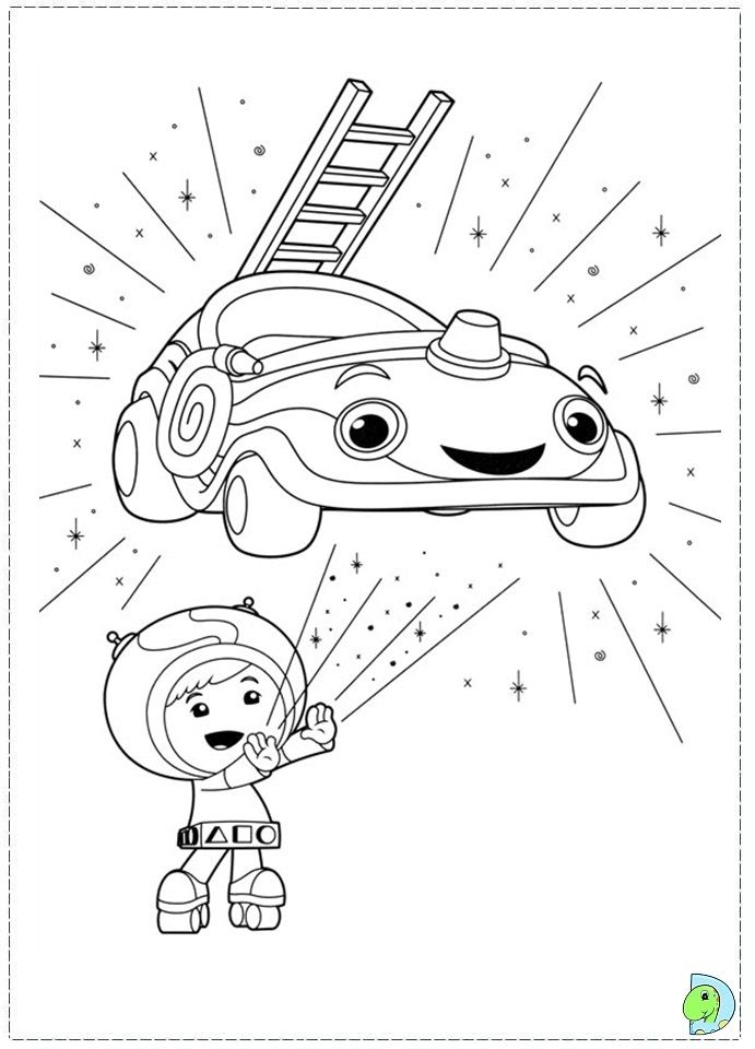 team umizoomi birthday coloring pages - photo#20