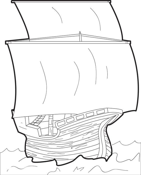 mayflower coloring pages for preschool - photo#6