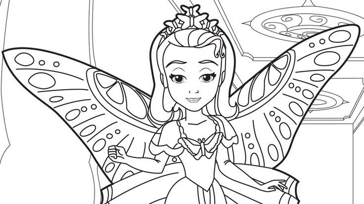Sofia Coloring Pages Pdf : Sofia the first coloring pages coloringstar az