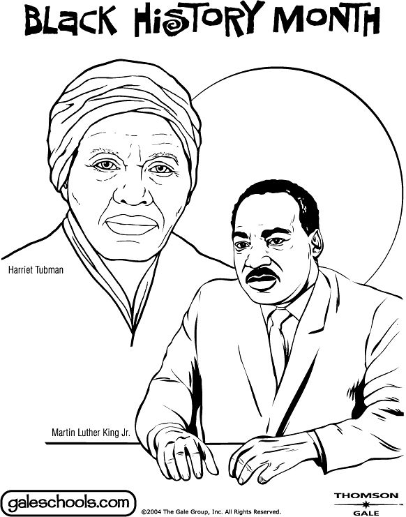 Black History Coloring Pages For Kids Page 1