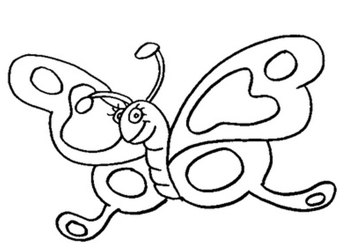 Best butterfly coloring pages - Printable Butterfly Coloring Pages Kids Colorine Net 12838